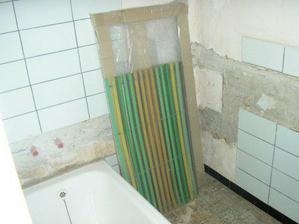 z téhle hrůzy bude krásná koupelna