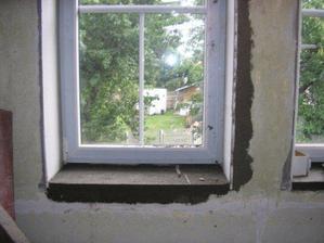 Okna zevnitř - bílá