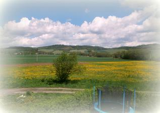 výhled do polí