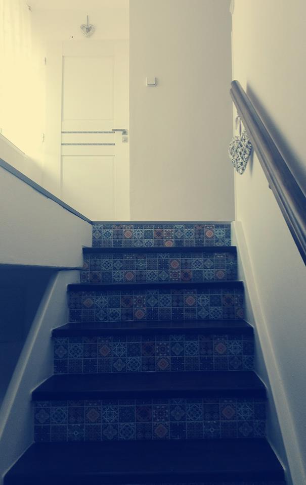 Výzva 2018 schodiště - dveře do ložnice