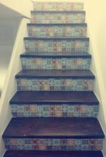 sice to zdaleka není jako nové schody,ale v rámci možností jsem spokojená