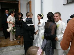 Moja sestrička Sylvika s manželom a Ronuškom