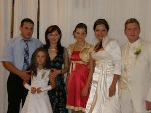 Moja sestička Andrejka s Mirkom, Bibankou a Emuškou