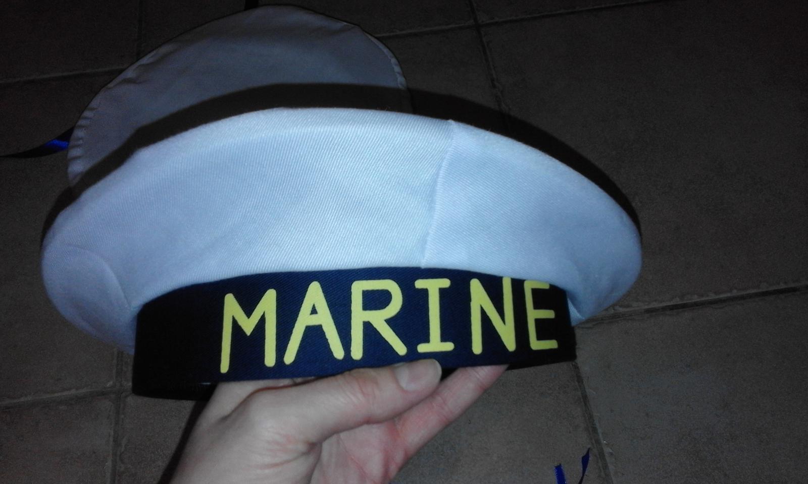 2 x námořnická čepice - Obrázek č. 1