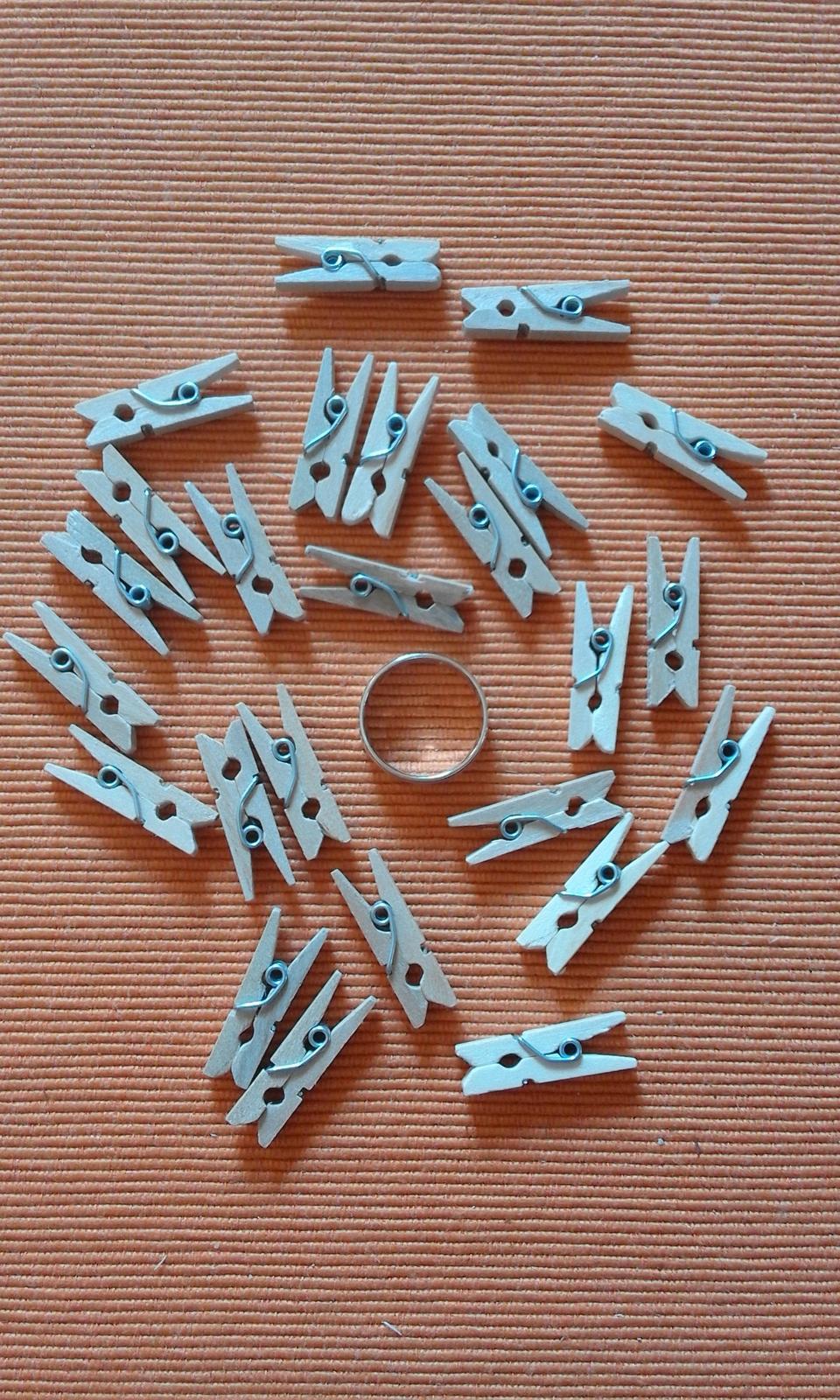 mini kolíčky 25 ks - Obrázek č. 1