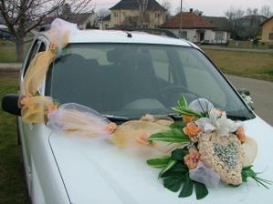 tak takto by som nejak chcela mať ozdobené auto.. ale aj s holubicami