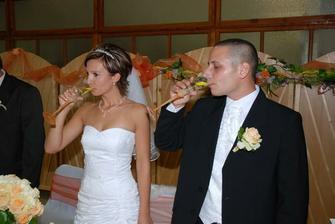 Novomanželský prípitok