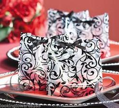 damaskové vrecúška na darčeky pre hostí