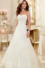 Svadobné šatičky - http://www.aliexpress.com/item/Free-shipping-sweetheart-appliques-lace-wedding-dress-2015-wedding-dresses-dress-bride-vestido-noiva-vestido-de/32261852103.html