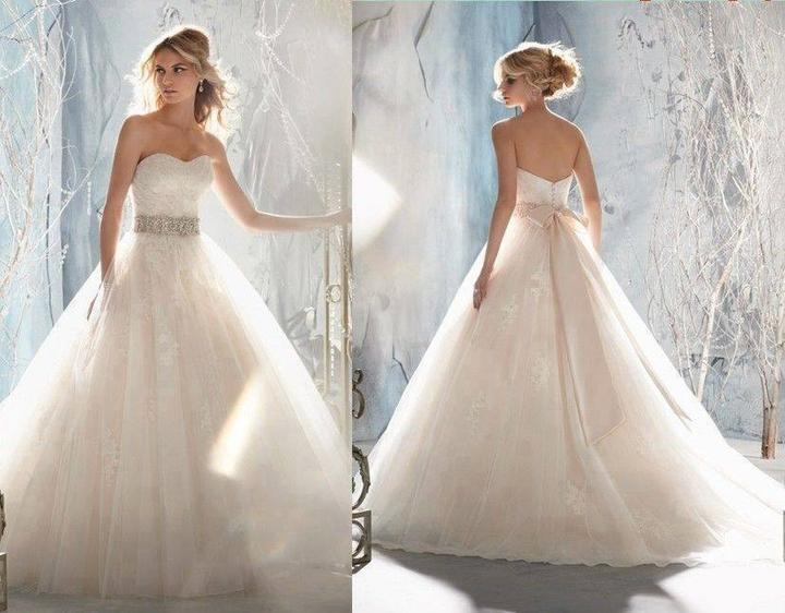 Svadobné šatičky - http://www.aliexpress.com/item/Free-Shipping-Sweetheart-Beading-Belt-Remove-Jacket-Backless-Tulle-Wedding-Dresses-SiSi-Bride-Store-Online-2014/1880936749.html?s=p