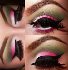 make-up ale bez tej zelenej