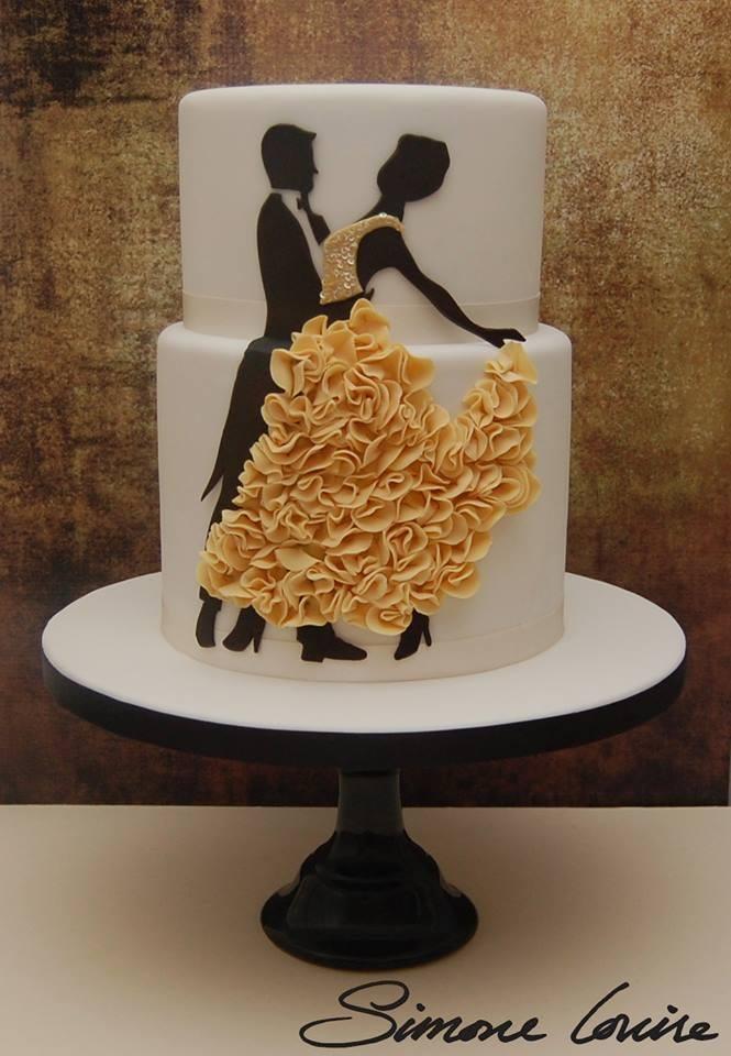 Exkluzívne svadobné torty - Obrázok č. 1