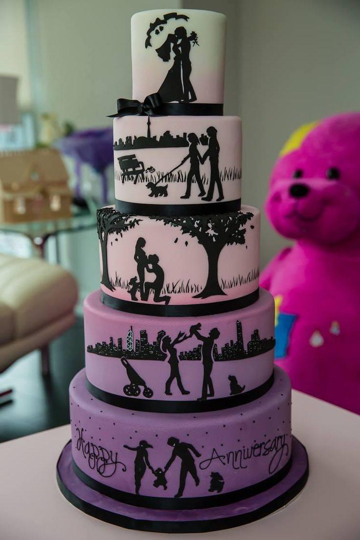 Exkluzívne svadobné torty - Obrázok č. 5