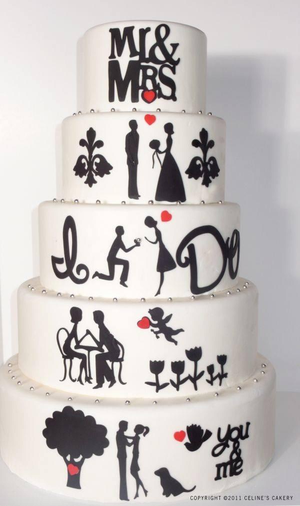 Exkluzívne svadobné torty - Obrázok č. 6