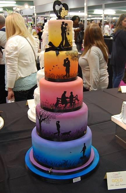 Exkluzívne svadobné torty - Obrázok č. 9