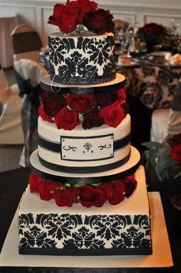 Exkluzívne svadobné torty - Obrázok č. 22
