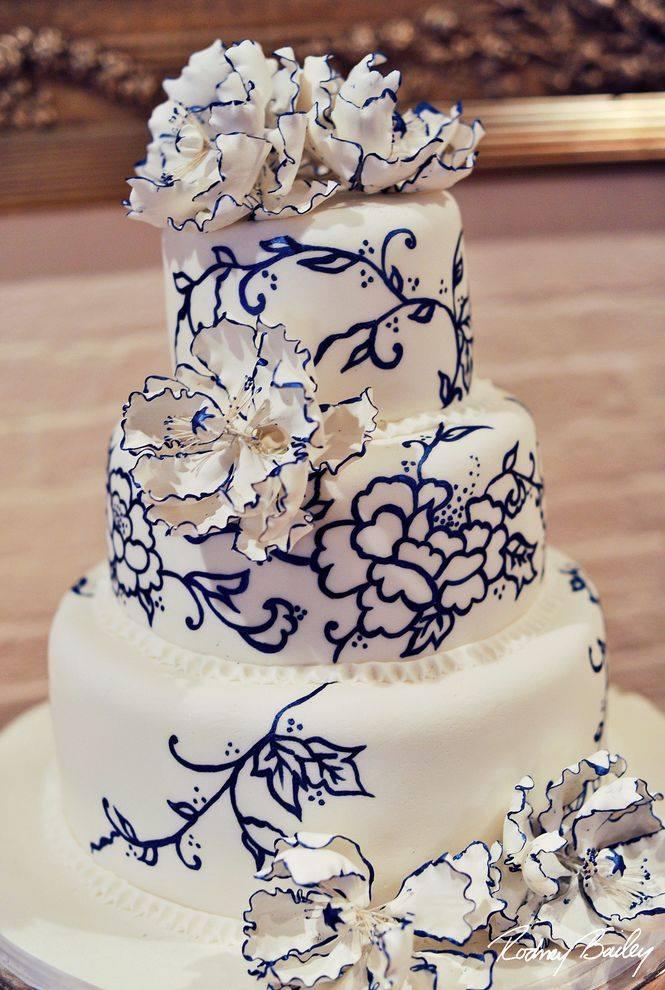 Exkluzívne svadobné torty - Obrázok č. 29