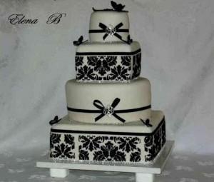 Exkluzívne svadobné torty - Obrázok č. 31