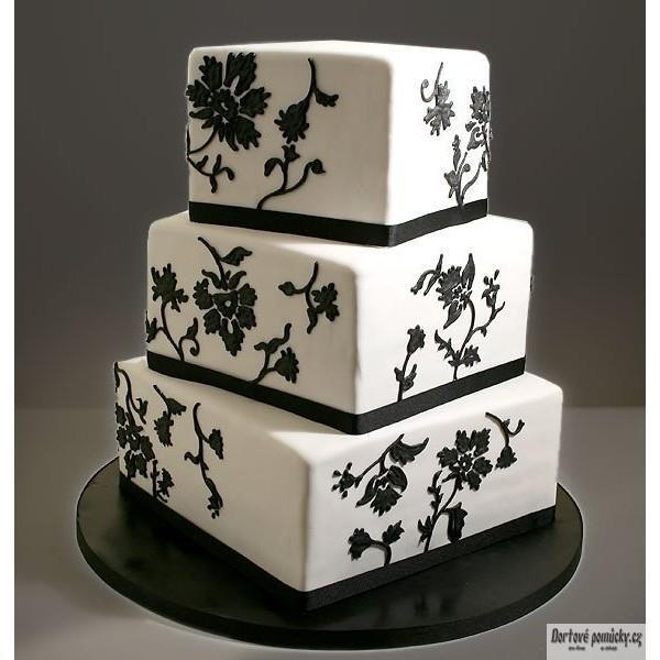 Exkluzívne svadobné torty - Obrázok č. 38