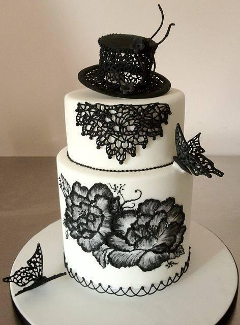 Exkluzívne svadobné torty - Obrázok č. 41