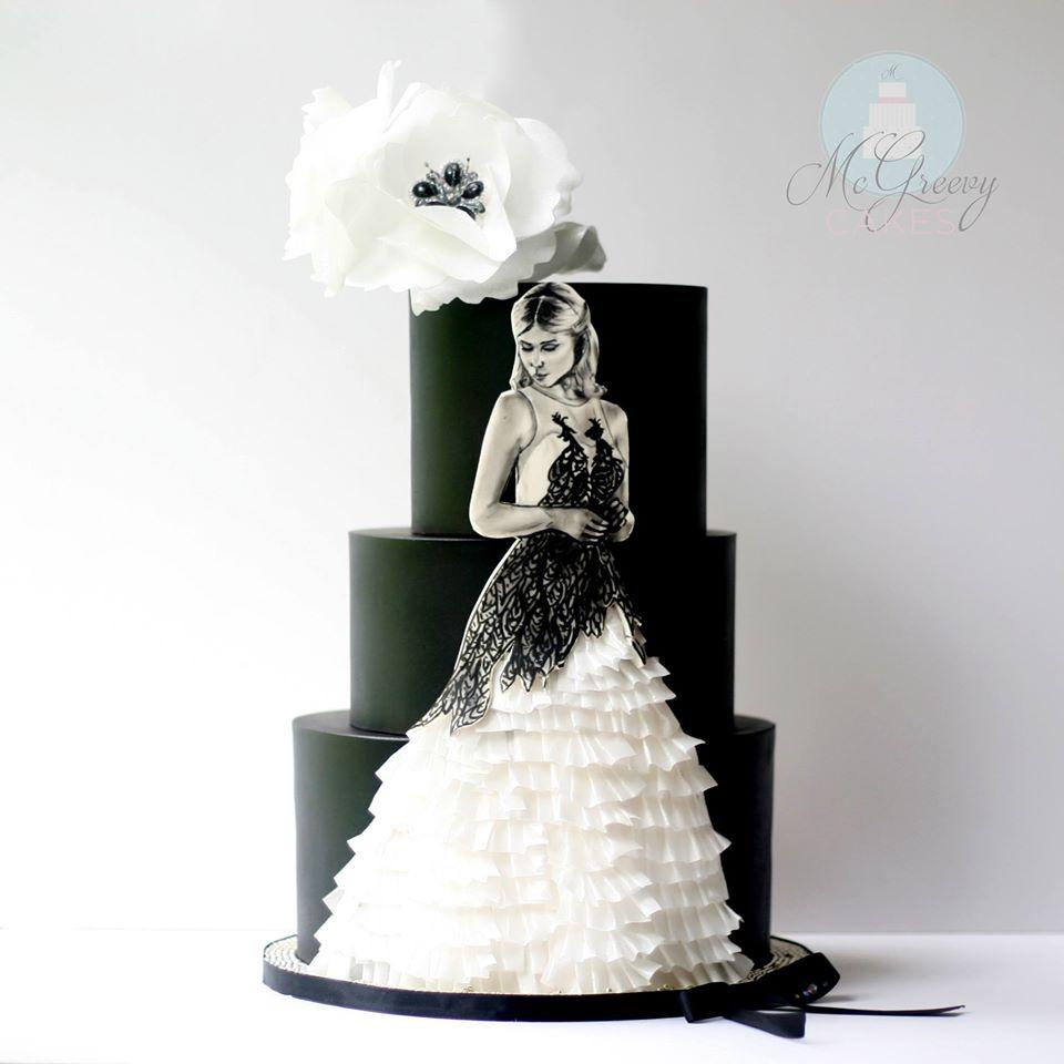 Exkluzívne svadobné torty - Obrázok č. 43
