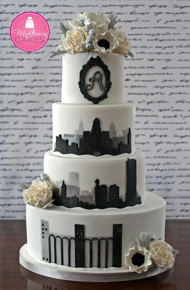 Exkluzívne svadobné torty - Obrázok č. 44