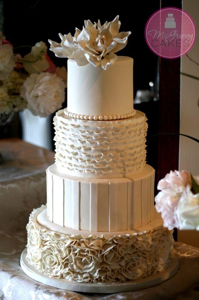 Exkluzívne svadobné torty - Obrázok č. 45