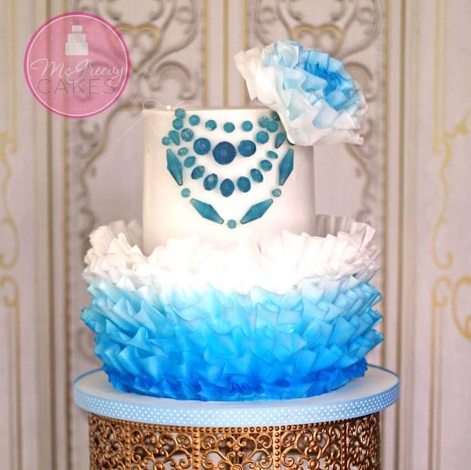 Exkluzívne svadobné torty - Obrázok č. 46