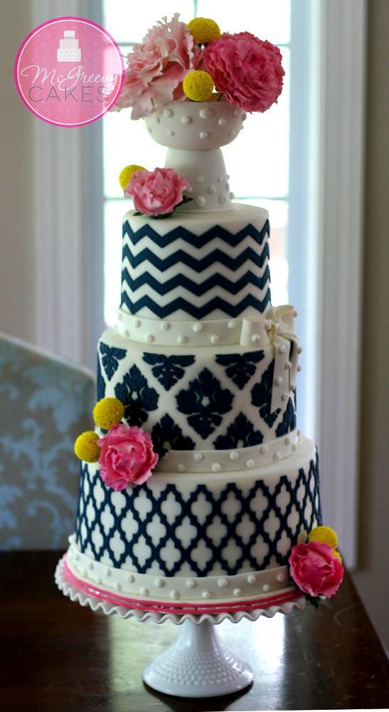 Exkluzívne svadobné torty - Obrázok č. 47