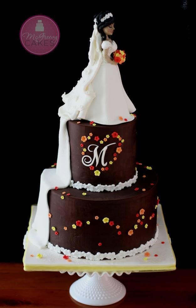 Exkluzívne svadobné torty - Obrázok č. 57