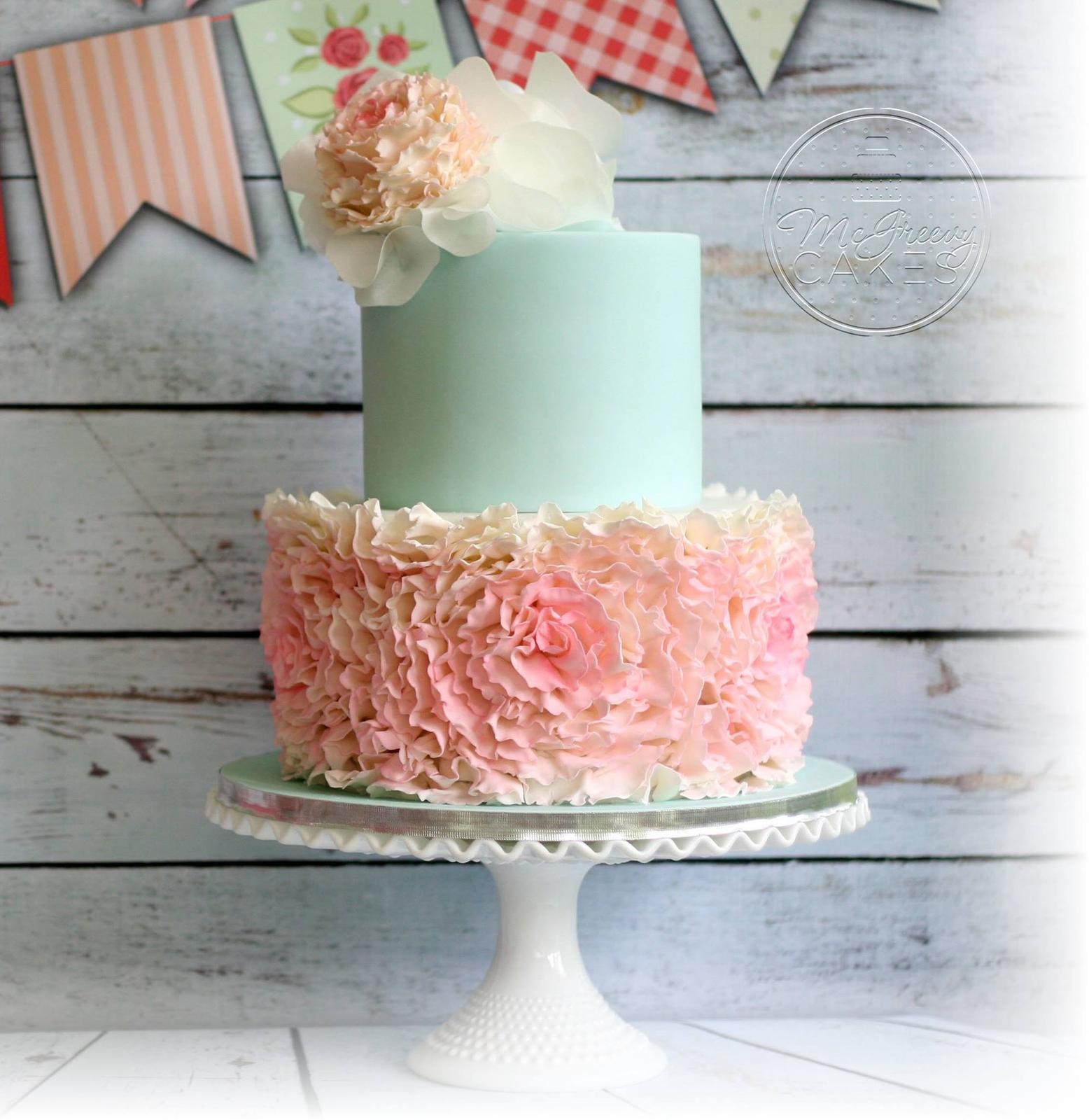 Exkluzívne svadobné torty - Obrázok č. 60