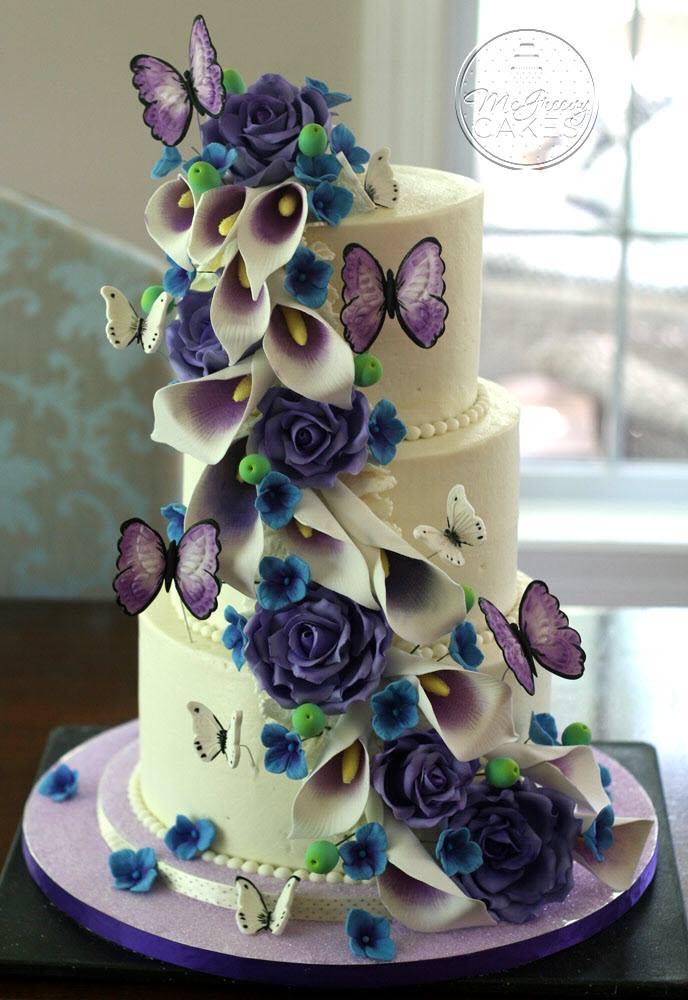 Exkluzívne svadobné torty - Obrázok č. 62