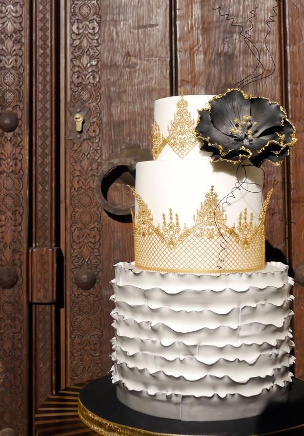 Exkluzívne svadobné torty - Obrázok č. 67