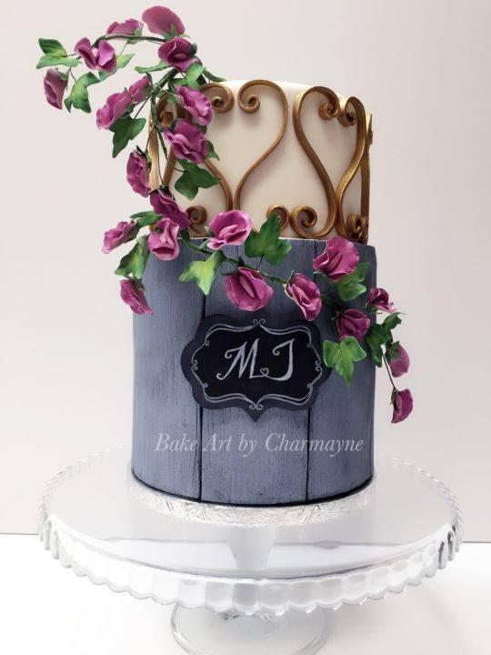 Exkluzívne svadobné torty - Obrázok č. 72