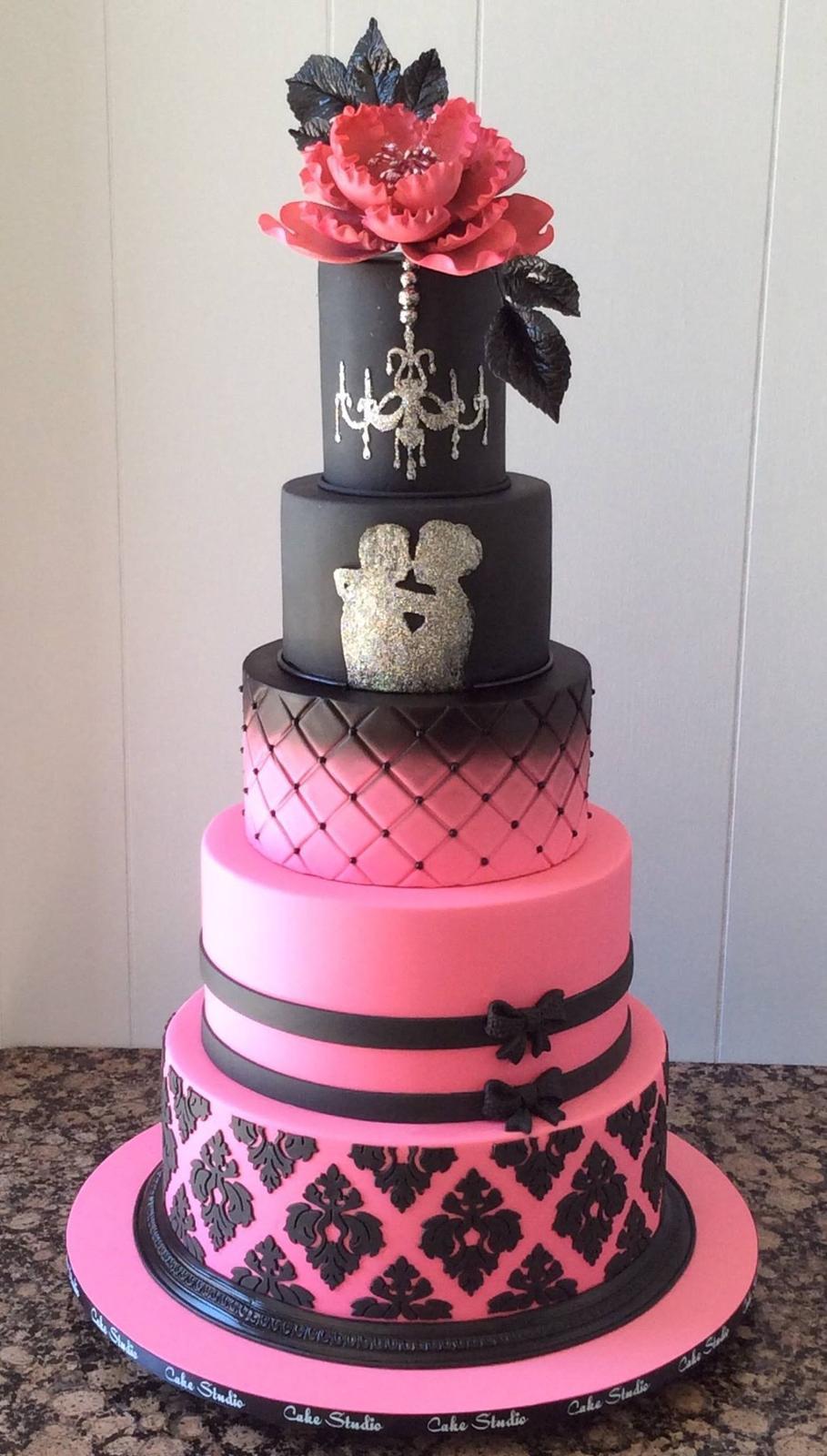 Exkluzívne svadobné torty - Obrázok č. 85