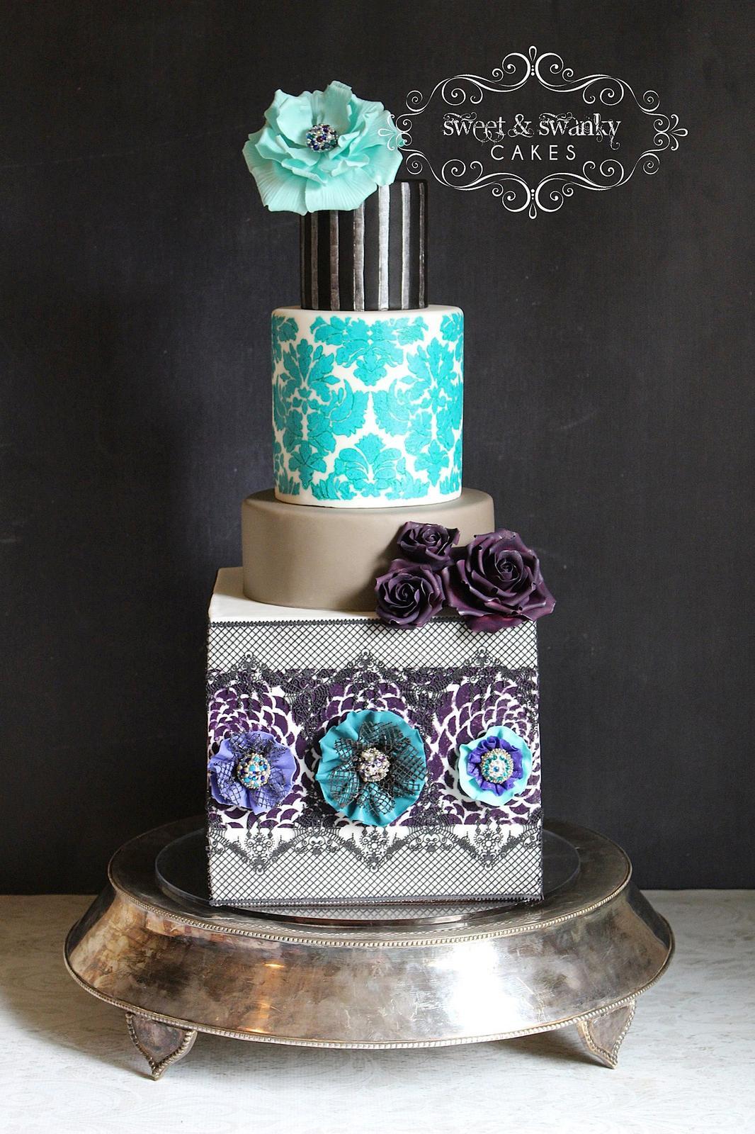 Exkluzívne svadobné torty - Obrázok č. 90