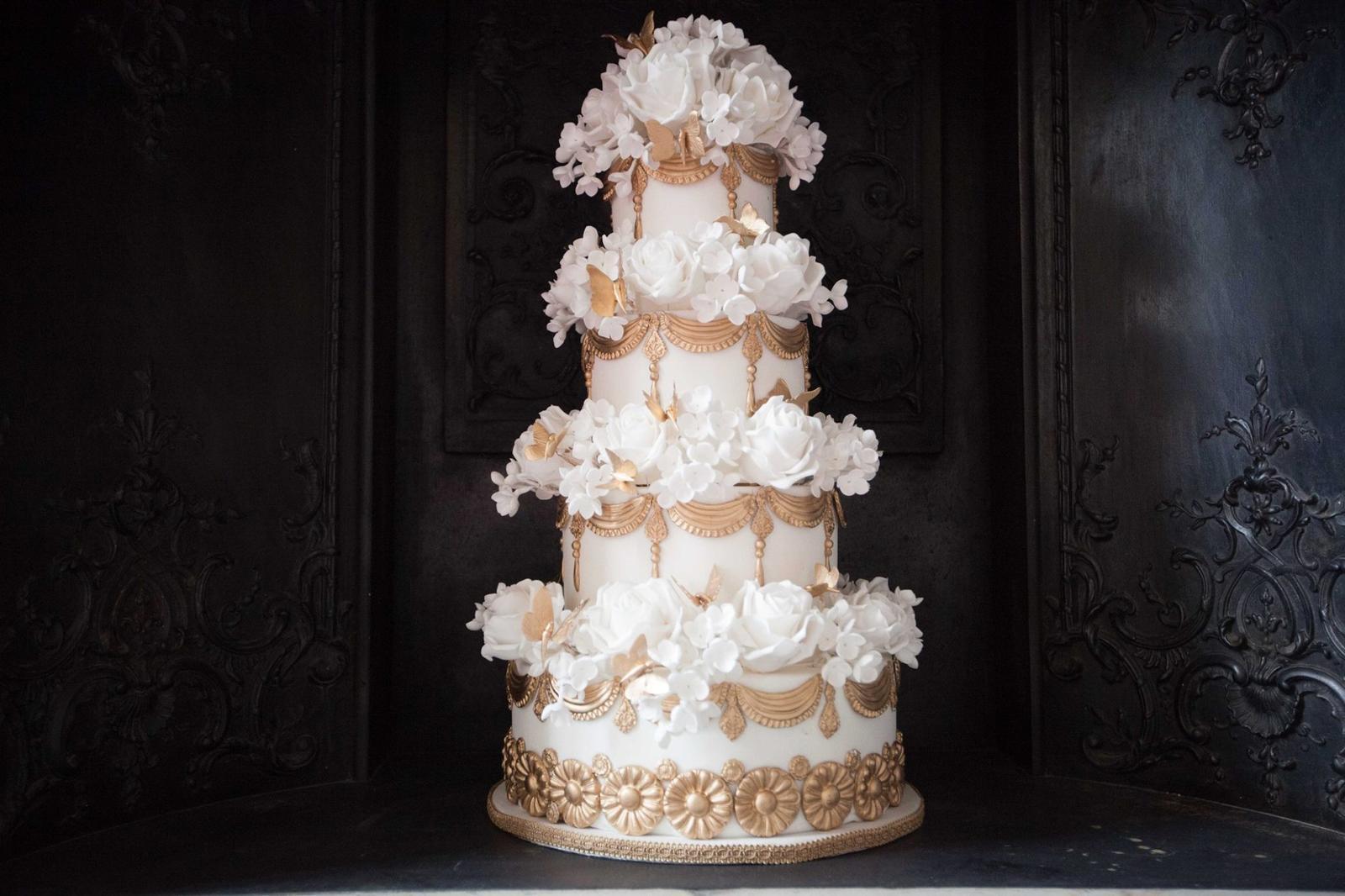 Exkluzívne svadobné torty - Obrázok č. 92