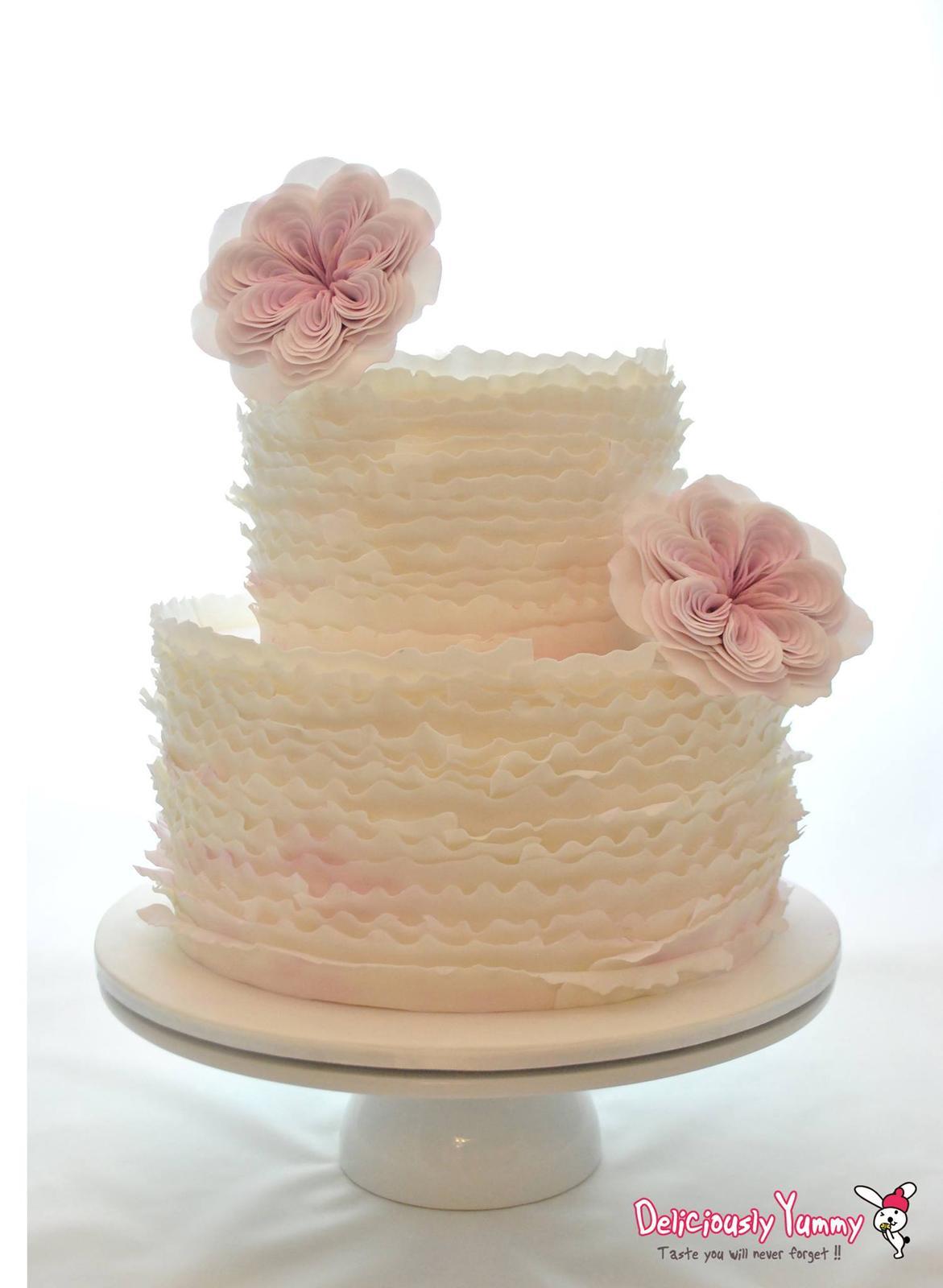 Exkluzívne svadobné torty - Obrázok č. 96