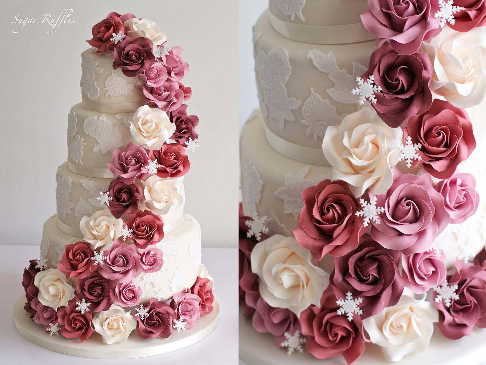 Exkluzívne svadobné torty - Obrázok č. 140
