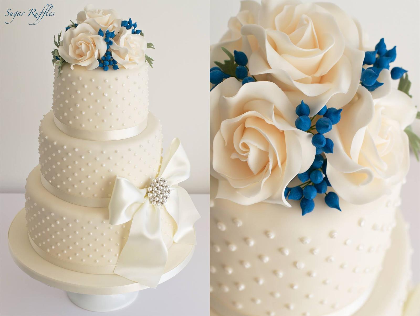 Exkluzívne svadobné torty - Obrázok č. 144