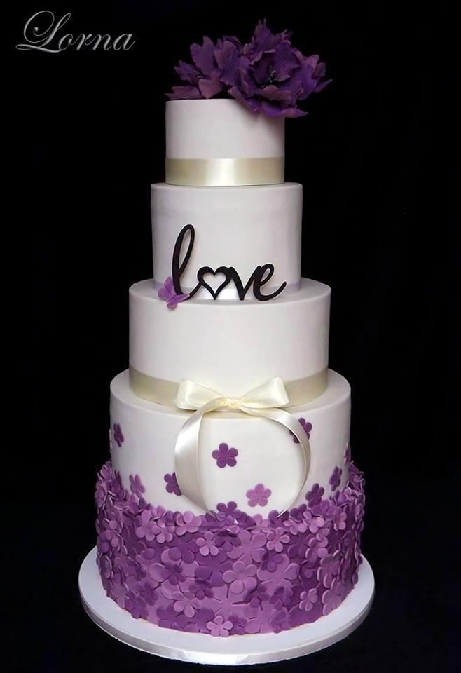 Exkluzívne svadobné torty - Obrázok č. 145