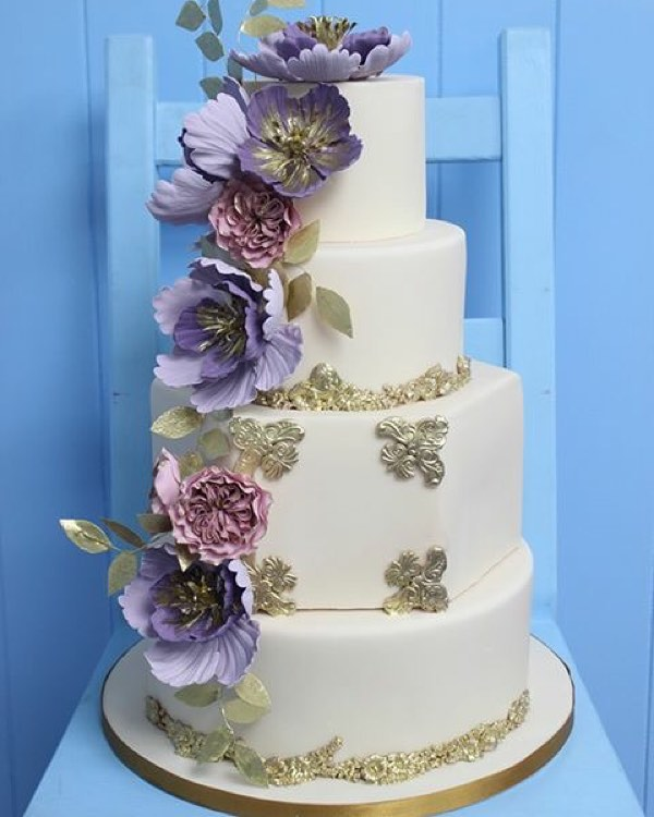 Exkluzívne svadobné torty - Obrázok č. 237