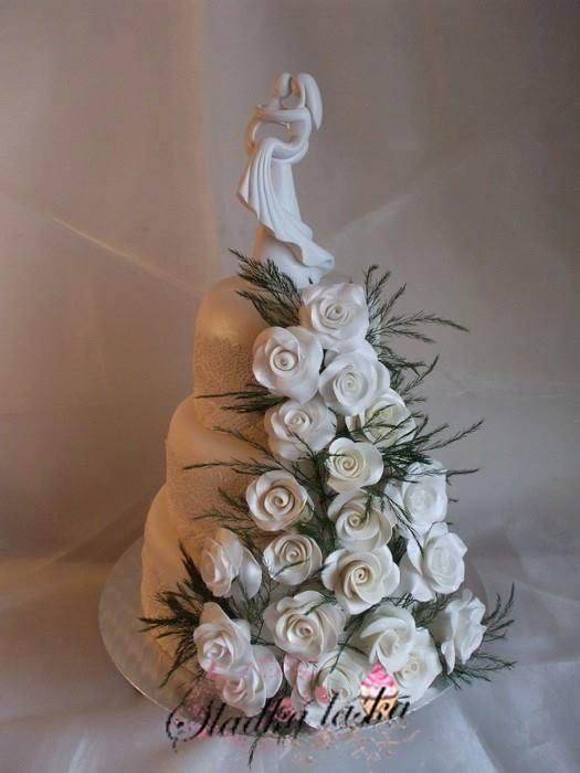 Exkluzívne svadobné torty - Obrázok č. 398
