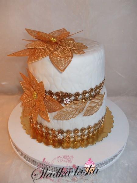 Exkluzívne svadobné torty - Obrázok č. 405