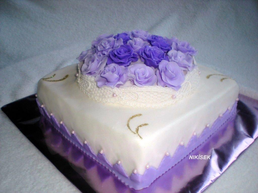 Exkluzívne svadobné torty - Obrázok č. 414