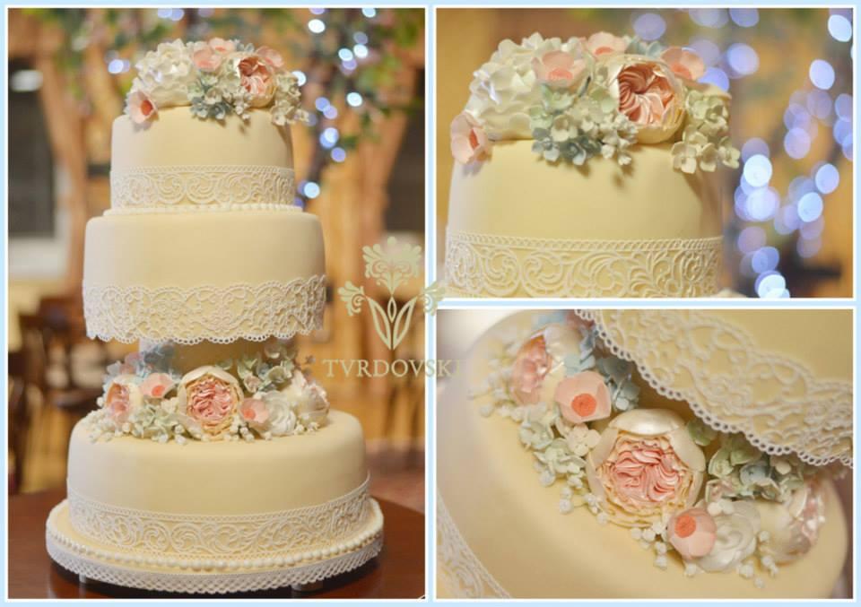 Exkluzívne svadobné torty - Obrázok č. 454