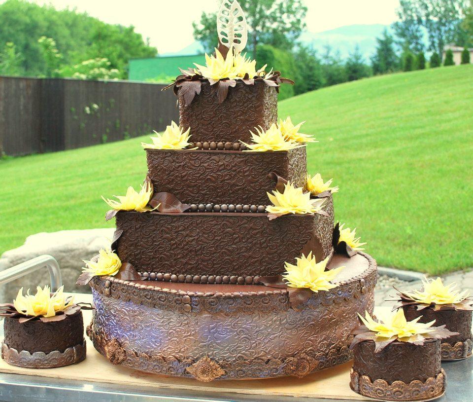 Exkluzívne svadobné torty - Obrázok č. 465