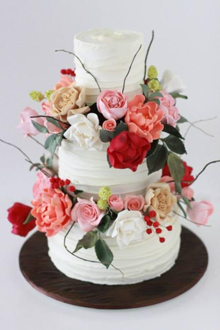 Exkluzívne svadobné torty - Obrázok č. 563