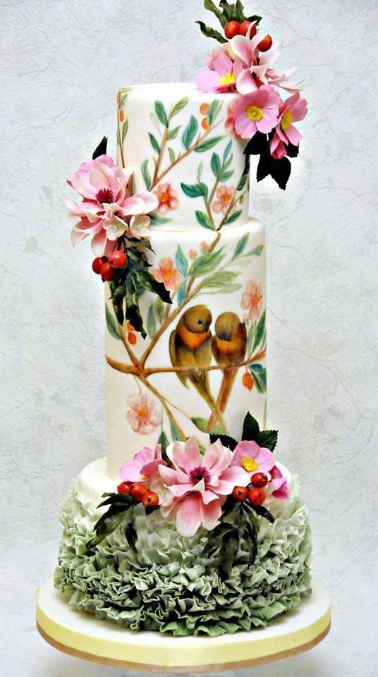 Exkluzívne svadobné torty - Obrázok č. 605