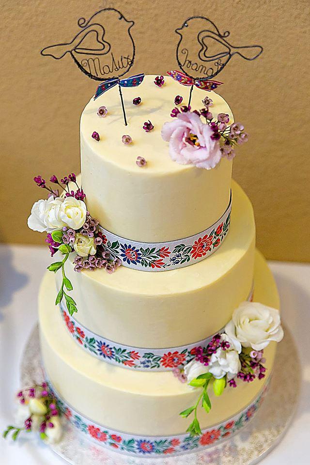 Exkluzívne svadobné torty - Obrázok č. 691